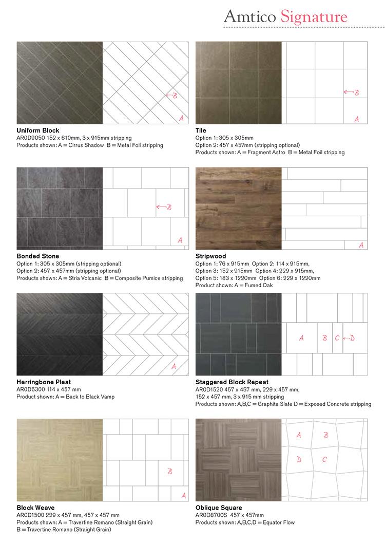 Amtico Signiture Laying Patterns 4